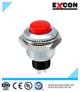 Excon Pb01 Push Button Switches with LED Light Switch pictures & photos