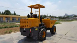 4X4 3000kg 3t Site Dumper Truck pictures & photos