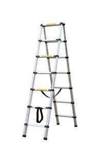 Telescopic Ladder (2.6m+2.6m) pictures & photos