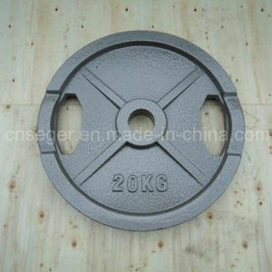 Cast Iron Bumper Plate for Olympic Barbell pictures & photos