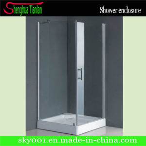 Square White Glass Shower Module (TL-515) pictures & photos