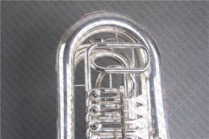 C Key Tuba Rotary Model Silver (TU-400S) pictures & photos