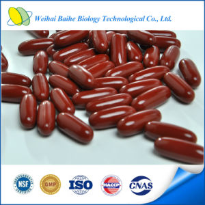 GMP Certified Fish Oil Red Rice Yeast Softgel High Quality pictures & photos