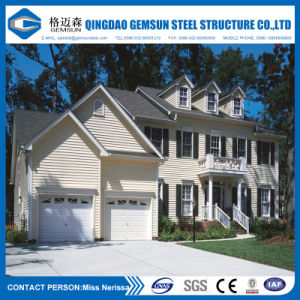 Custom Built Luxury Prefabricated Steel Frame Villa with Turn Key in North Europe pictures & photos