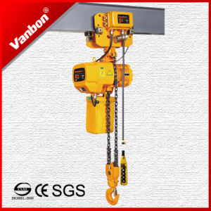 5ton Electric Trolley Type Electric Chain Hoist (WBH-05002SE) pictures & photos