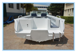 5.0m 17FT Runabout Aluminum Cabin Fishing Boat Speed Boat with Ce pictures & photos