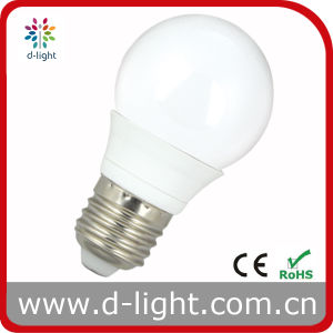 CE RoHS Standards E27 3W G50 LED Bulb pictures & photos