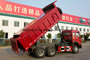 Sinotruk Golden Prince Dump Truck 6X4 Driving Type pictures & photos