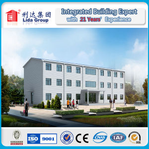 Economical Green Building Steel Structural with Sandwich Panel Prefab House pictures & photos