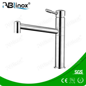 Stainless Steel Single Handle Upc Basin Faucet (AB100) pictures & photos