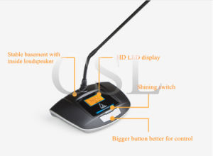Conference Room Sound System UHF Wireless Conference Microphone Professional pictures & photos