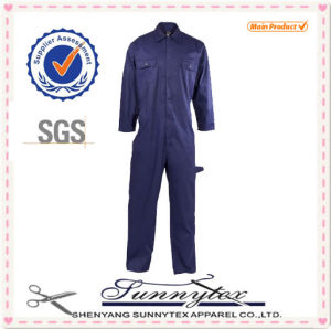 Sunnytex Manufacture Mens Workwear Blue Cheap Mechanic Coveralls pictures & photos