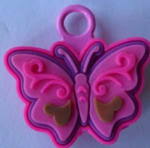 Purple Butterfly Nice and Cheap PVC Charms pictures & photos