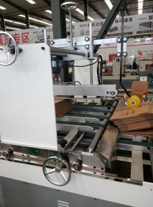 Automatic Corrugated Box Folding Gluing Machine pictures & photos