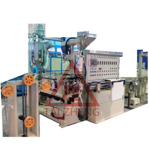 Physical Foaming Coaxial Cable Production Line pictures & photos