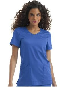 Comfortable Unisex Scrub Uniform, Medical Uniform of Short Sleeve --LCM04 pictures & photos