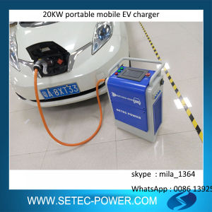 Portable EV DC Fast Charging Station pictures & photos