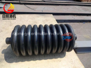 SPD Impact Belt Conveyor Roller, Roller with Rubber Rings pictures & photos