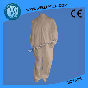 Disposable Type5/6 Coverall/Overall pictures & photos