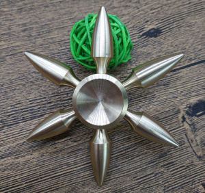Newest Bullet Fidget Brass Spinner with R-188 Bearing pictures & photos