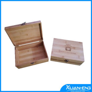 Rectangle Horizontal Pressed Finishing Bamboo Storage Box pictures & photos