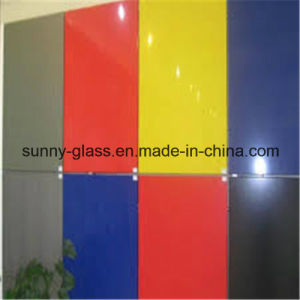 Color Glass Painted Glass 3-6mm for Decoration and Construction pictures & photos
