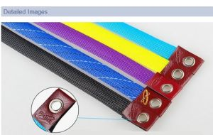 PVC Knitted Mesh Fishing Rod Cover pictures & photos