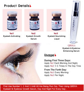 High quality pure natural 3D eyelash growth enhancer eyelash serum eyelash growth serum pictures & photos
