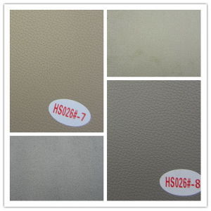 High Quality Microfiber Leather for Sofa (HS026#) pictures & photos