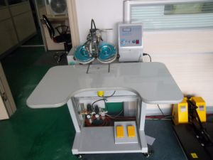 Ultrasonic Hot Fix Rhinestone Machine for Transfer Motif pictures & photos