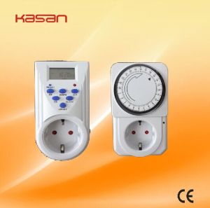 Electric Digital Timer Switch/Time Control Switch pictures & photos