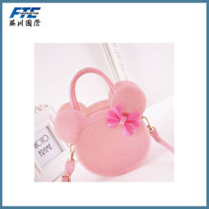 Inclined Single Shoulder Bag PU Bowknot Backpack pictures & photos