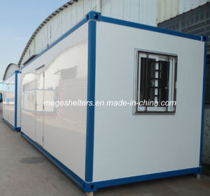 Fiberglass Prefabricated Mobile Container House in Desert