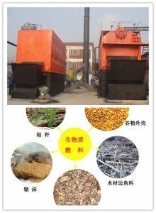 Biomass Steam Boiler Are Operating in Korea