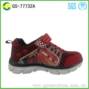 Newest Children Flashing LED Light Shoes Kids Shoes pictures & photos