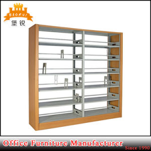 Double Side Steel Used School Library Furniture Metal Book Shelving Bookshelf pictures & photos