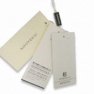 High Quality Garment Paper Hang Tags
