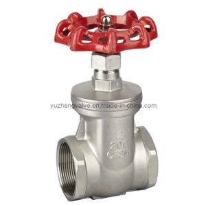 Stainless Steel Non-Rising Stem Gate Valve pictures & photos