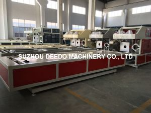 Automatic Pipe Socketing Machine for Plastic Extrusion Line pictures & photos