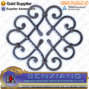 Wrought Iron Decoration Rosettes pictures & photos
