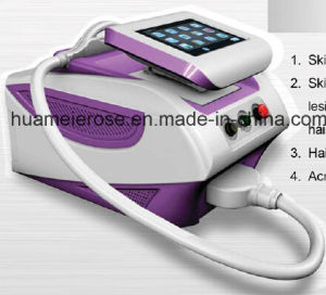 Portable Professional IPL Shr Hair Removal Beauty Machine with Foldable Display pictures & photos