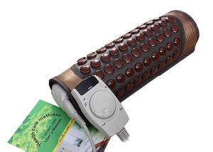 Vibration Moxibustion and Anion 12 Balls Handheld Thermal Jade Projector pictures & photos