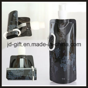 Outdoor Bicycle Sport Foldable Drinking Water Bottle with Custom Printing pictures & photos