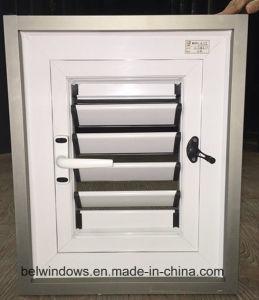 White Color Aluminum Rolling Shutter Window