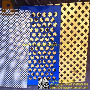 Decorative Boats Perforated Metal Sheet pictures & photos