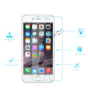2.5D 9h 0.26mm for iPhone 6 Plus Tempered Glass Screen Protector pictures & photos