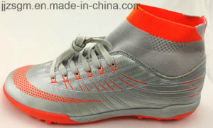 New Arrivals Football/Soccer Sports Shoes with Flyknit Sock pictures & photos