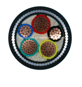 Copper Wire Conductor XLPE Insulated Swa Armored Electric Cable pictures & photos