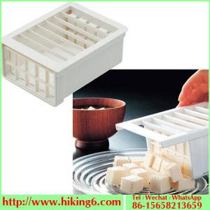 Plastic Multi Functional Tofu Cutter pictures & photos