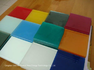 2-6mm Colorful Back Painted Glass, White, Cappuccino Color/ Varnished Glass pictures & photos